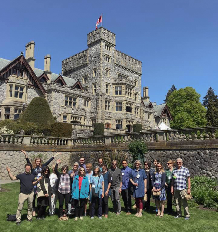 The PSCA members in Victoria, BC